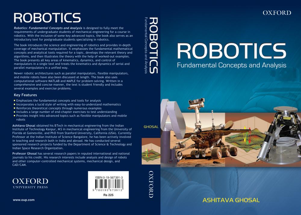 Ashitava Ghosal | Department of Mechanical Engineering